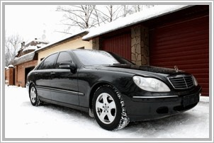 Mercedes S 430 4MATIC W200